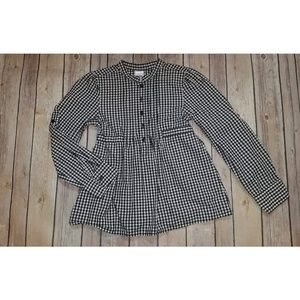 Gymboree Long Sleeve Button Check Shirt